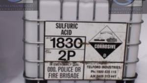 اسید سولفوریک ۱۰۰ لیتری